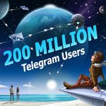 Telegram announces impressive 200 million monthly active users milestone, releases new update