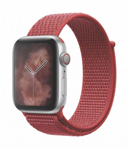 Apple launches Red Sport Loop for Apple Watch
