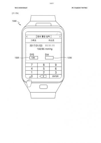 Samsung Patent Points To Blood Pressure Tracking On 'Gear X'