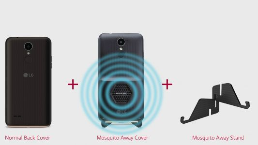 LG's new K7i smartphone is also an OTG mosquito repellent