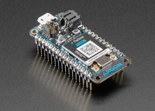 Particle Argon nRF52840 with Mesh and WiFi arrives at Adafruit