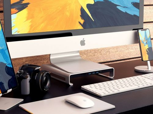 Satechi's $90 USB-C monitor stand adds functionality and style to your iMac