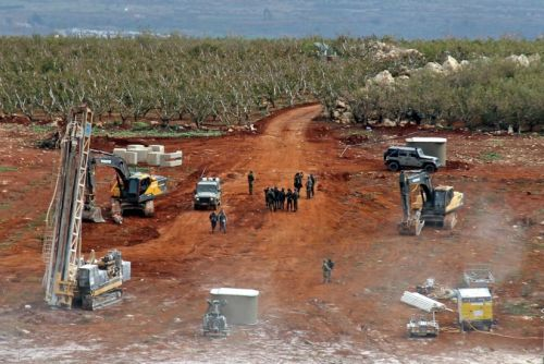 Hezbollah Tunnels Under a Galilee Farmer's Apple Orchard