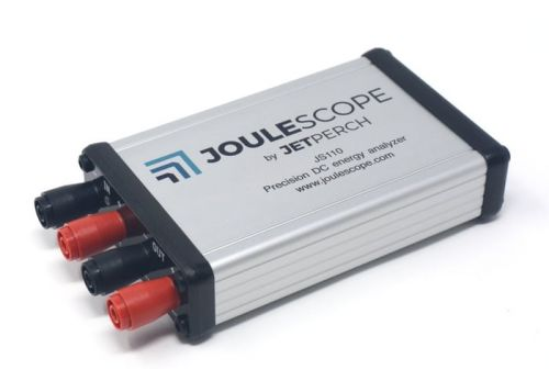 Joulescope affordable, precise DC energy analyser