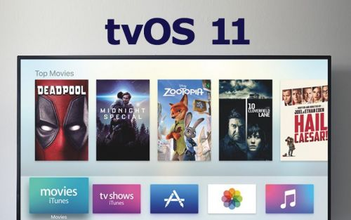 Apple Releases tvOS 11 With Home Screen Syncing, Auto Dark Mode, and 4K Support for New Apple TV