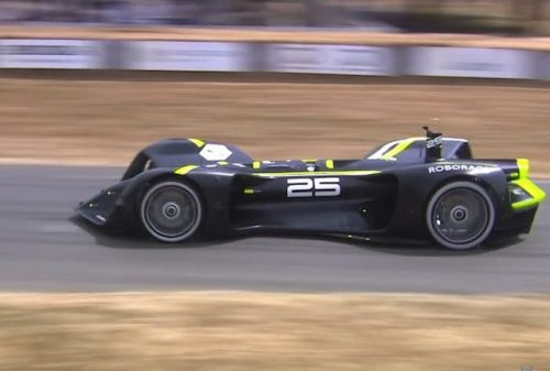 Self-Driving Car Completes Iconic Goodwood Hill Climb