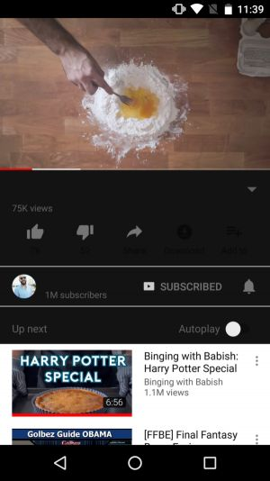 YouTube Is Preparing Dark Mode For The Android App