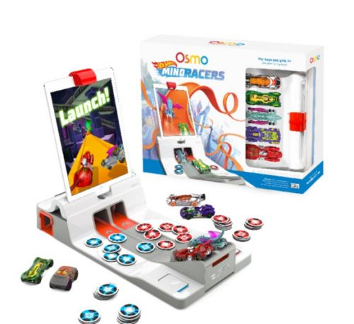 Osmo combines iPad app and toy cars with Hot Wheels MindRacers game