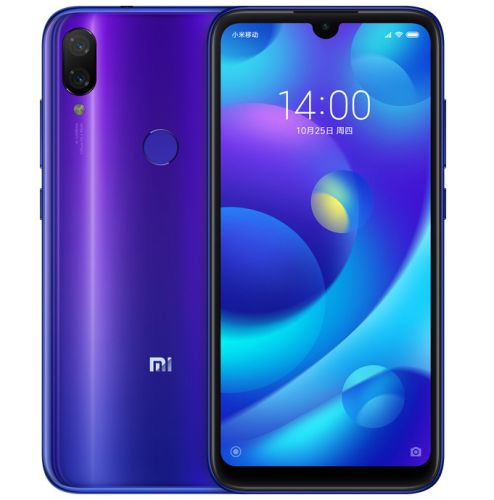 Xiaomi Unveils Its Very First Smartphone With Waterdrop Notch