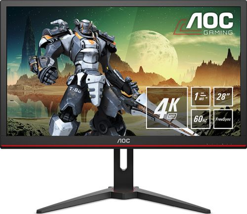 AOC Introduces Its G2868PQU Monitor: An Inexpensive 4K Gaming Display with FreeSync