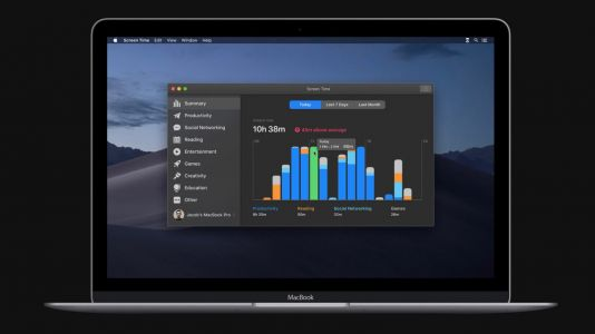 MacOS 10.15 concept envisions rumored Screen Time feature with ambitious design