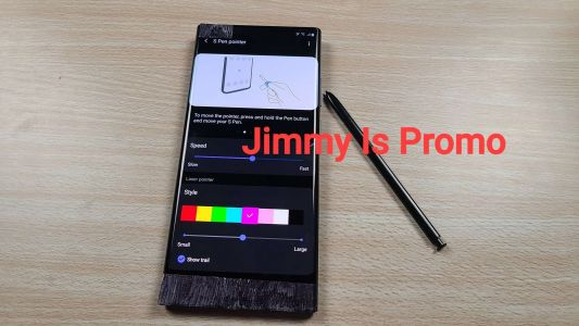 Galaxy Note 20's S Pen Will Double As A. Pointer?