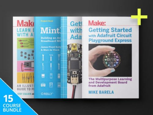 Save 92% on the Make: Arduino Hacker eBook Bundle