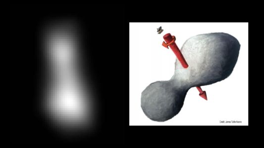 New Horizons has a successful flyby of the Kuiper Belt's bowling pin