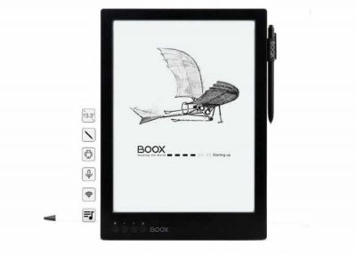 Onyx Boox Max Carta eReader With High Resolution Now Available