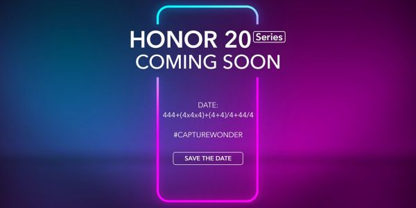 Cryptic invite sets Honor 20 global launch date for May 21