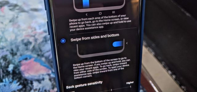 How to Enable Android 10's New Gestures on Your Samsung Galaxy with One UI 2.0