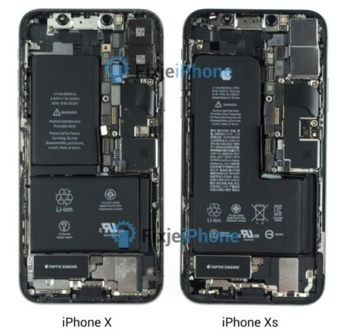 IPhone Xs Teardown Confirms Single L-Shaped Battery