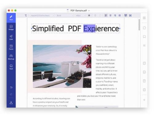 Save 50% on PDFelement for Mac: Lifetime License