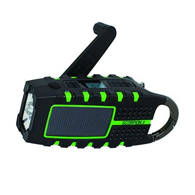 Weather the storm with a discount on the Eton Scorpion II Emergency Radio