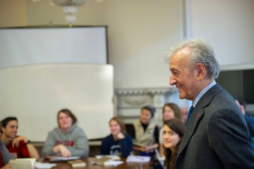 Learning Lessons From Elie Wiesel