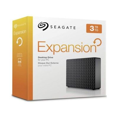 Let Seagate's $76 external drive keep 3TB of your most important files backed up