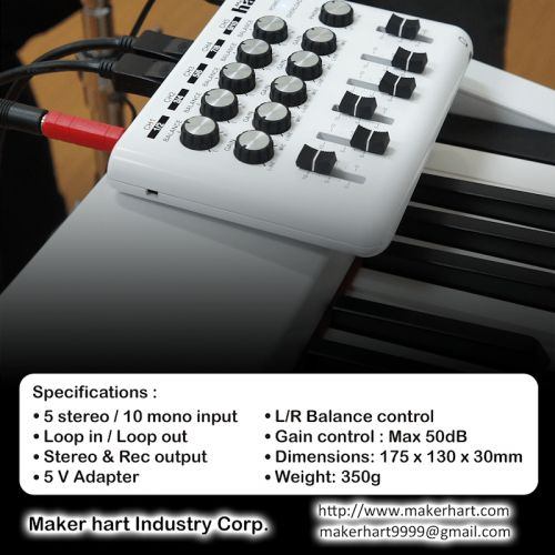 The Maker hart Loop Mixer Is All About Versatility