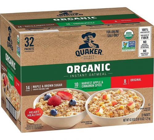 Breakfast sets the tone for the day. Fill up with these organic cereals