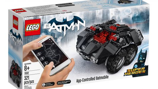 LEGO's launching a buildable, app-controlled Batmobile this August
