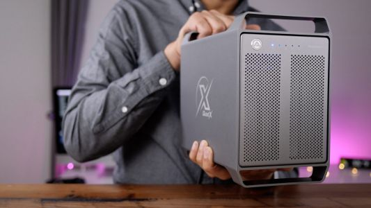 Hands-on: Akitio Thunder3 Quad X - a four bay drive enclosure with classic Mac Pro-inspired design