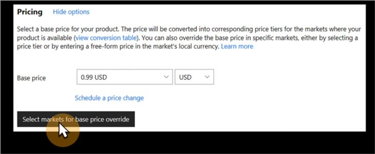 New Feature: Free-form pricing in Dev Center