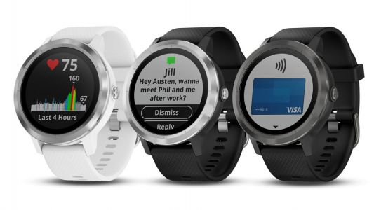 You can now use Garmin Pay on the Vivoactive 3