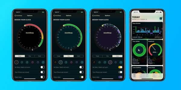 AutoSleep adds 'Today' tab with updated sleep session graphs, new customization options, more