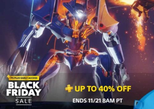 PlayStation Black Friday Deals Now Available For PS Plus Members