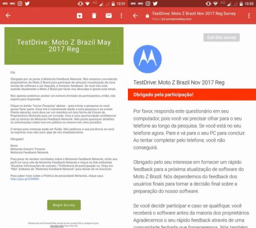 Motorola begins testing Android Oreo for the Moto Z lineup