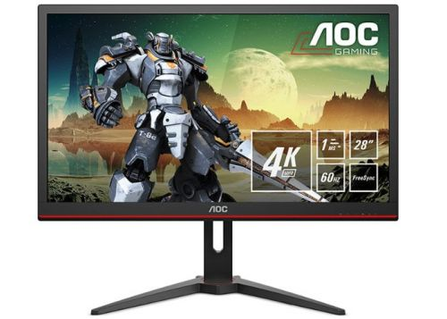 "AOC 4K 28"" gaming monitor offers 60 Hz, 1ms and FreeSync support for $299"