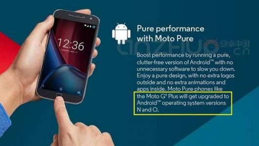 Motorola Says Moto G4 Plus Will Receive Android 8.0 Oreo Update