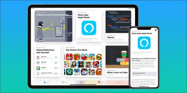 App Store promoting Amazon's Alexa app following Apple Music integration with Echo speakers