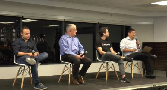 Crypto panel: How blockchain startups are disrupting big industries