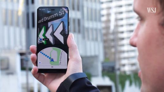 Augmented Reality Google Maps is coming, starts testing in private