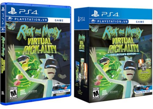 Rick and Morty: Virtual Rick-ality Launches On PlayStation VR April 10th 2017