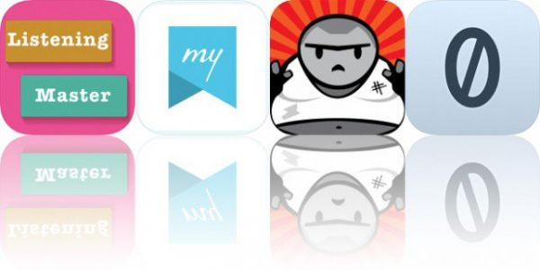 Today's Apps Gone Free: English Listening Master, My Life Journal, Thundergut's Revenge and More