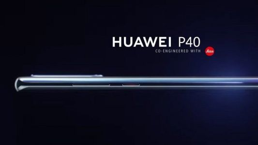 Alleged Huawei P40 Render Surfaces
