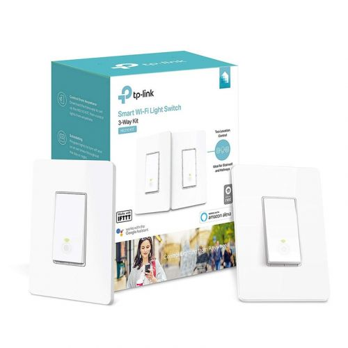 TP-Link's $45 Smart Switch 3-Way Kit lets you automate home lighting
