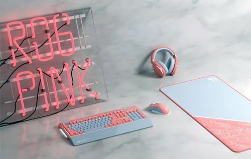 ASUS ROG Launches Pink Peripherals