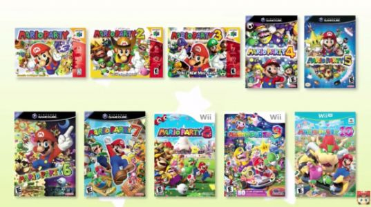 Mario Party: The Top 100 is coming to the Nintendo 3DS on November 10