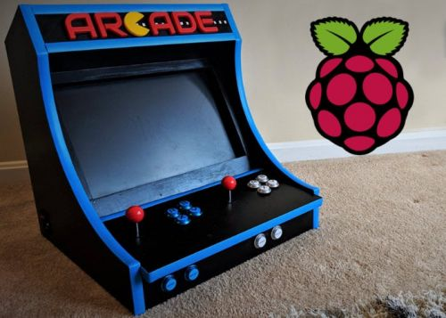 DIY Raspberry Pi bartop arcade machine