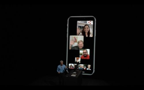 IOS 12 and macOS Mojave's initial releases won't include Group FaceTime