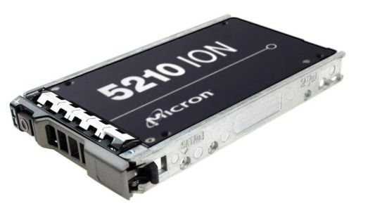 The 7.7TB Micron 5210 Ion is the cheapest large capacity SSD right now