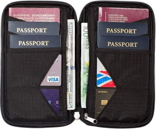 Going abroad? Get a travel wallet and keep your docs safe